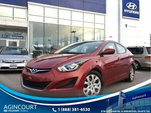 2016 Hyundai Elantra GL/HEATED SEATS/OFF LEASE/ONLY 23637KMS