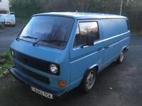 Vw t25 1984 panel van with 1.8 8v gti engine