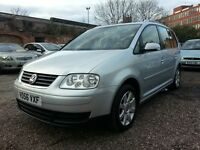 VOLKSWAGEN TOURAN 7 SEATER, 1.9 DIESEL TDI, MINT CONDITION DRIVES EXCELLENT
