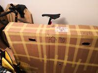 Cardboard box to send bike