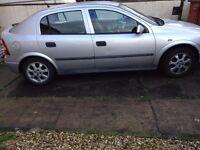 Vauxhall Astra 2002 1.6 LS 5dr FSH