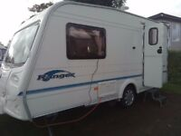 bailey ranger 2 berth end bathroom