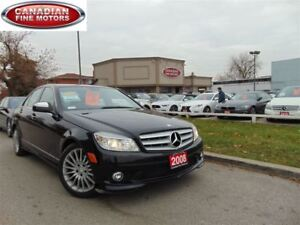 2008 Mercedes-Benz C-Class C230-LEATHER ROOF-LOW KM'S