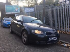 AUDI A3 FOR SALE,MOT 08/18,2.0L TDI, FULL LEATHER AND NAVIGATION SYSTEM