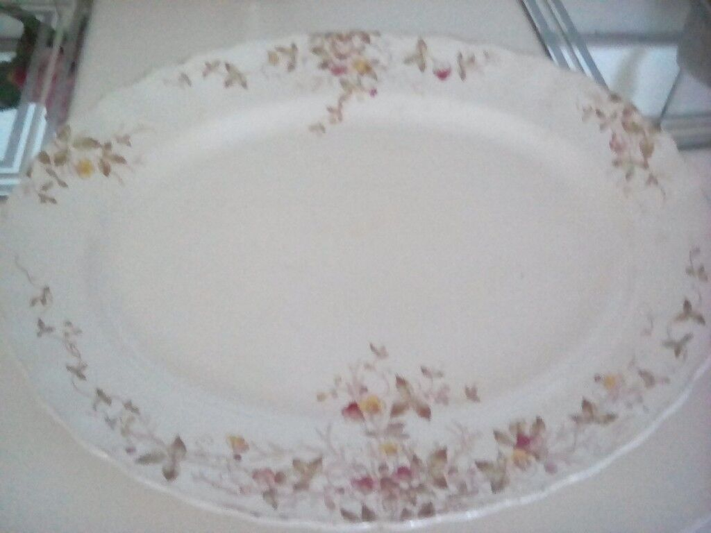 china vintage oval platter serving plate in in hullbridge