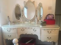 Vintages 5 drawers dressing table