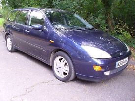 ESTATE. FORD FOCUS 1.8 ZETEC ESTATE. GREAT CAR.