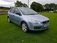 2006 FORD FOCUS 1.8 TDCI DIESEL SPORT..MOTED TO AUG.2018.POSSIBLE PART EX. CREDIT CARDS ACCEPTED