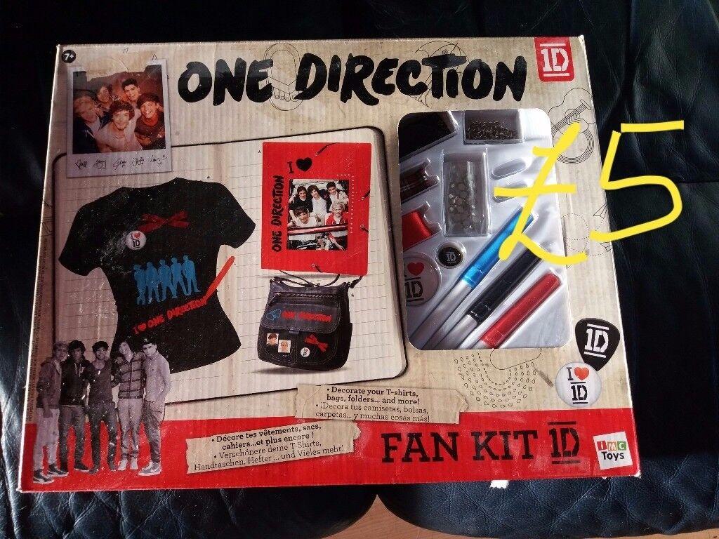 One Direction Fan Kit