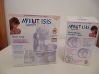 Philips AVENT ISIS Manual Breast Pump, White plus Comfort shells