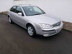 Ford Mondeo zetec 1.8 years mot fully serviced ready to drive away