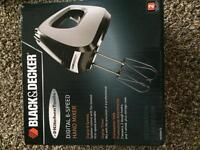 Black & decker digital 6-speed hand mixer