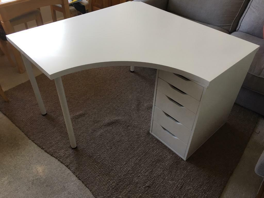 Corner Desk With Drawers Ikea In Guildford Surrey Gumtree