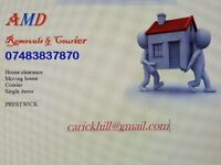 Man & Van A.M.D REMOVALS AND COURIERS