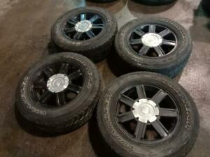 265/65R18 tires with Cadillac Mags. All sizes winter and summer tires available