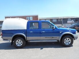 FINANCE AVAILABLE!! NO VAT!! Ford Ranger XLT Thunder double cab with only 107k from new..