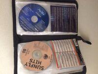 36 karaoke discs