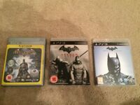 PS3 Batman Arkham Asylum - Arkham City - Arkham Origins