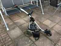 Golf trolley with battery and charger , bargain and first to see will buy