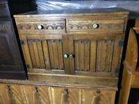 Solid Wood Carved Cabinet