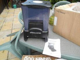 Two automatic 90 day pet feeders.