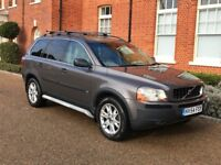 VOLVO XC90 T6 AWD / AUTOMATIC 4x4 7 SEATER WITH TOW BAR XENONS LEATHER / MOT LOGBOOK FSH 3 KEYS