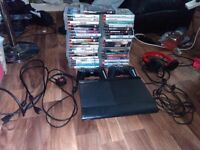 500gb ps3 with games