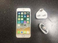 **Excellent Condition** iphone 7, 128GB, UNLOCKED, Silver (116)