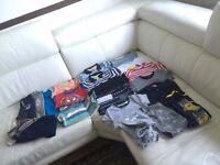 Bundle of new baby boy mix clothes 1-2 years old