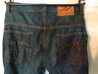 "Oxford Super Sliderz Kevlar Jeans Blue - 34"" Waist"