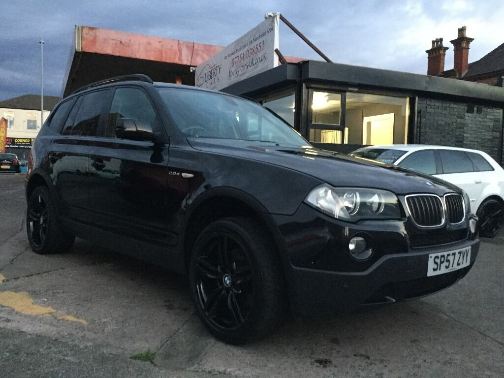 2007 bmw x3 with additional 19 inch f10 m sport alloys at an extra cost of 595 in. Black Bedroom Furniture Sets. Home Design Ideas