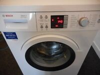 "BOSCH ""VARIOPERFECT"" 8KG/1400 DIGITAL WASHER**NEAR NEW**"