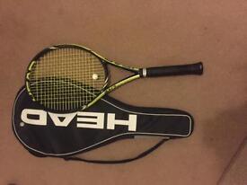 Head Extreme lite tennis racket.