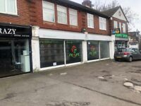 DOUBLE FRONTED SHOP TO LET Emerson Park