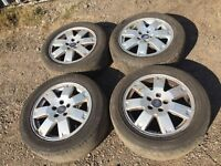 """Ford Mondeo / focus / transit connect 16"""" alloy wheels - good tyres"""
