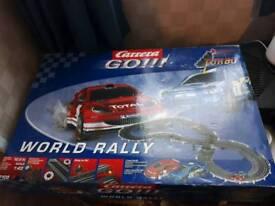 Carrera go world rally- Scalextric set