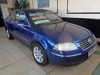 VW PASSAT 1.9 TDI HIGHLINE 4DOOR WITH LEATHER SEATS AND MANY MORE EXTRAS