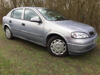 VAUXHALL ASTRA - 1.6L - LONG MOT - SUPERB EXAMPLE - SERVICE HISTORY INCLUDED