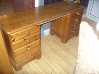 Long Pine Dressing Table