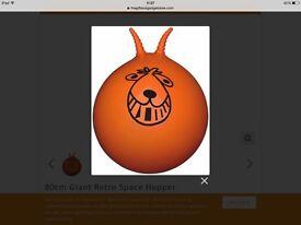 Retro Orange Space Hopper - Great Christmas Present - Brand New