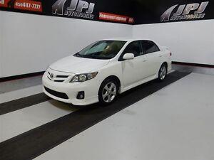 2013 Toyota Corolla S  TRES PROPRE BAS KILO