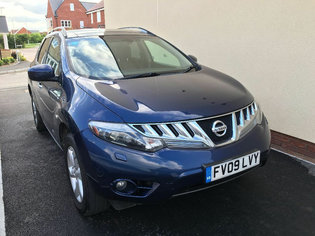 nissan murano 3 5 v6 cvt 4x4 bargain price to sell fast good condition for age mileage. Black Bedroom Furniture Sets. Home Design Ideas