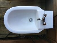 Luxury bidet - with taps and all fittings