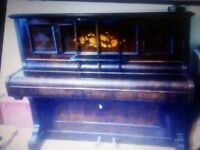 Beautiful Antique Edwardian Piano