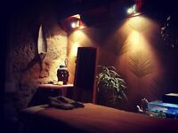 Scottish massage therapist offering deeply relaxing massage comes highly recommended