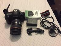 Canon Eos5D mark3 with Canon EF 24-105 lens