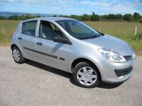 Renault Clio 1.2 Expression 5 Door only 49,000 miles with YEARS MOT (NO ADVISORIES) LOW INSURANCE.