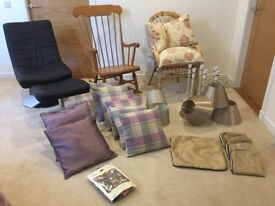 Selection of Chairs, Soft Furnishings etc...