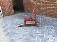 Block paving cutter used