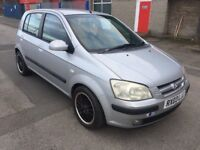 Hyundai Getz 1.1 CDX 5dr (MOT UNTIL MAY 2018) 2003